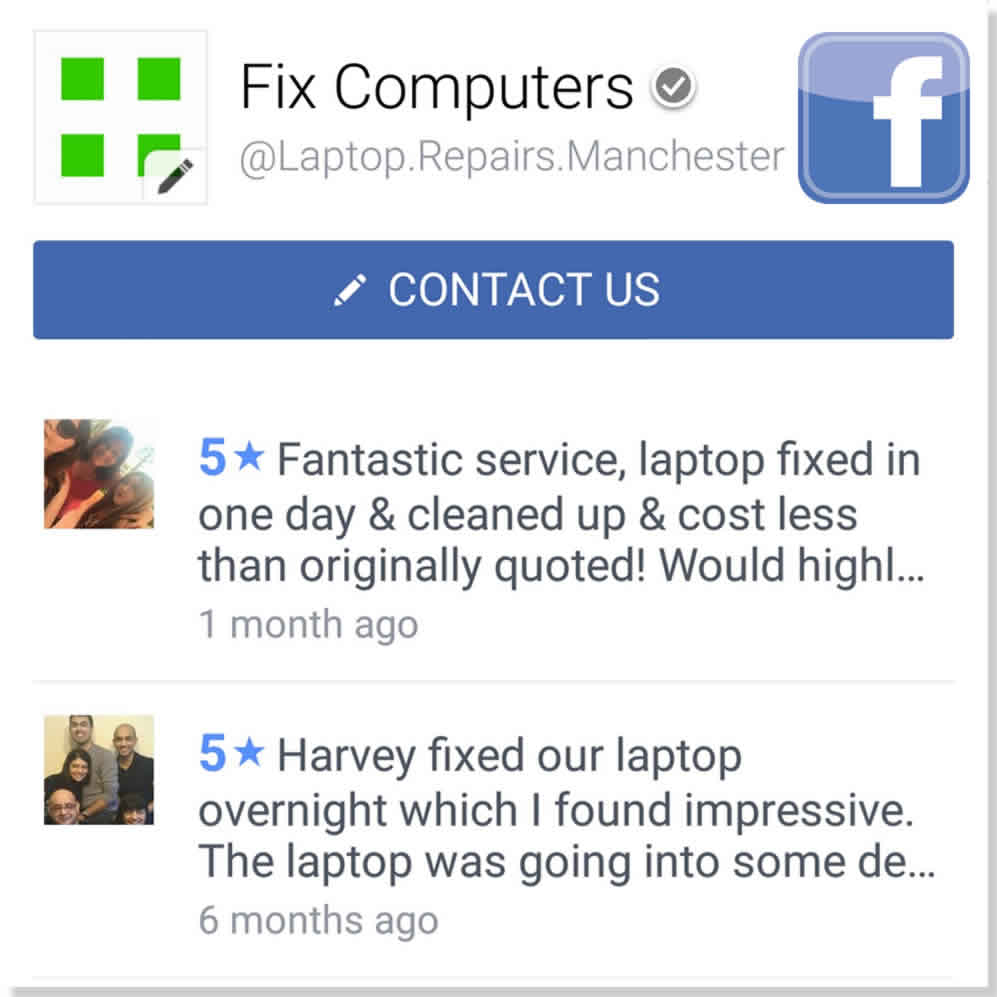 Manchester computer support reviews