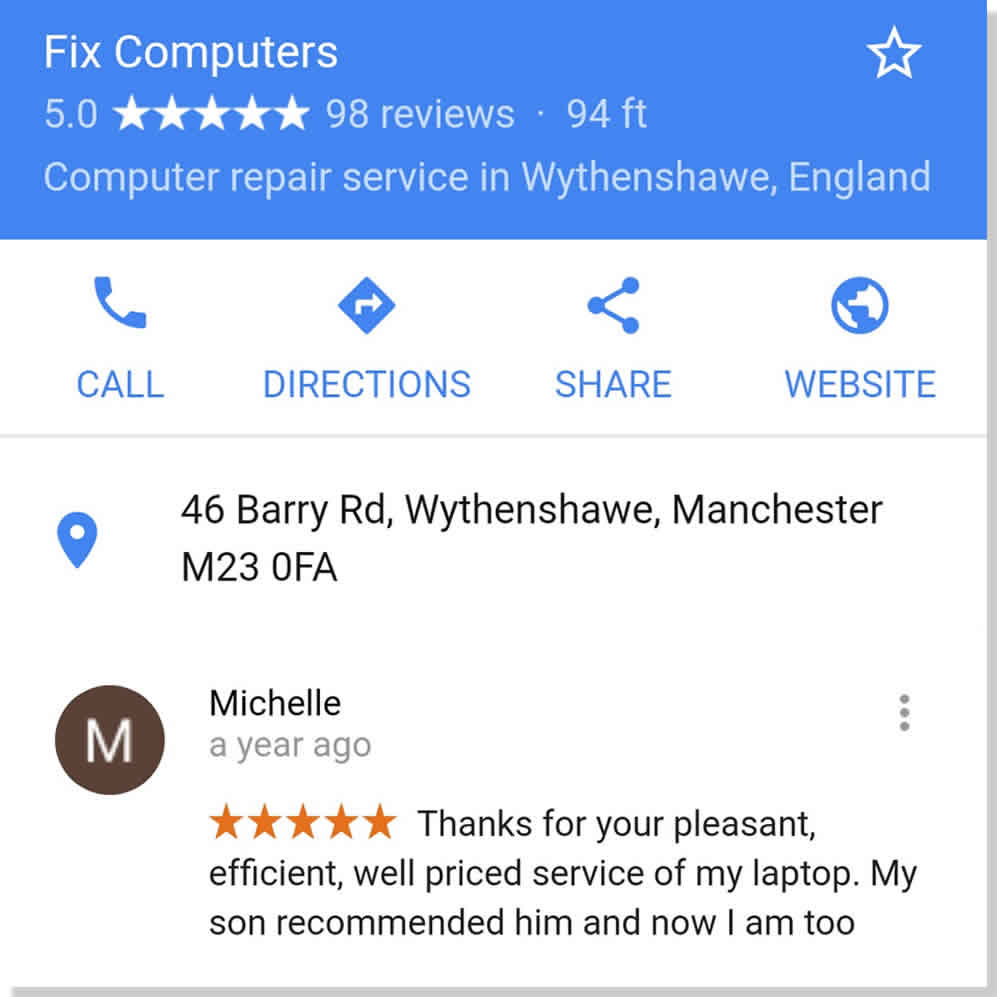 laptop repair reviews